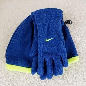 Kid's Nike 2-piece Hat and Glove Set